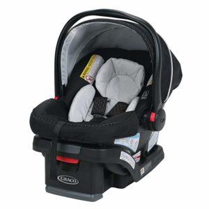 best infant car seat. Most Affordable infant car seat. best infant car seat 2020. A picture of the Graco SnugRide SnugLock 30 Infant Car Seat representing the most affordable infant car seat.