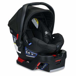 best infant car seat. Best compact infant car seat. best infant car seat 2020. A picture of the Britax B-Safe 35 Infant Car Seat representing the best compact infant car seat.