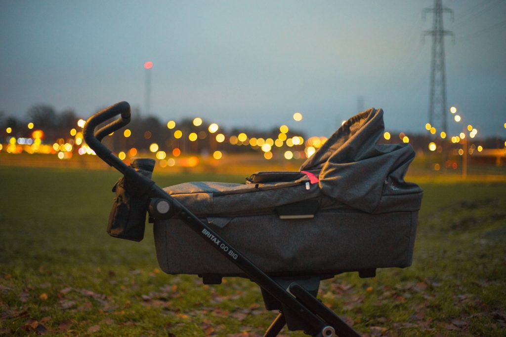 An image of a stroller representing BabyBety's article on best strollers of 2020. The article features best luxury strollers and best affordable strollers.
